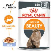 Royal Canin Intense Beauty Jelly kapsička pro kočky v želé 12x