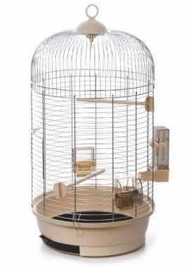 Julia 3 pozink béžová, klec pro ptáky