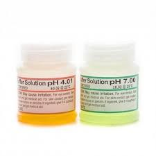 Kalibrační roztoky pH 4 + pH 7 / 2 x 25 ml