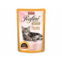 Kapsička ANIMONDA Rafine Soupe Kitten krůtí + srdce + mrkev (100g)