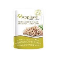 Kapsička APPLAWS cat pouch chicken with lamb in jelly 70 g ()