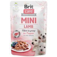 Kapsička BRIT Care Mini Puppy Lamb fillets in gravy 85g