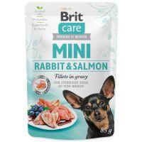 Kapsička BRIT Care Mini Rabbit & Salmon fillets in gravy 85g