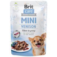 Kapsička BRIT Care Mini Venison fillets in gravy 85g