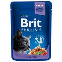Kapsička BRIT Premium Cat Cod Fish (100g)