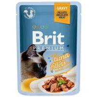 Kapsička BRIT Premium Cat Delicate Fillets in Gravy with Tuna (85g)