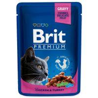 Kapsička BRIT Premium Cat Salmon & Trout (100g)