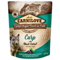 Kapsička CARNILOVE Dog Paté Carp with Black Carrot 300g