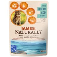 Kapsička IAMS Cat Naturally with Natural Cod in Gravy 85g