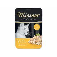 Kapsička Miamor Filet kuře + tuňák   (100g)