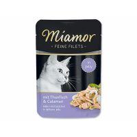 Kapsička Miamor Filet tuňák + kalamáry   (100g)