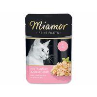 Kapsička Miamor Filet tuňák + krab   (100g)