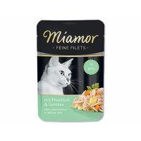Kapsička Miamor Filet tuňák + zelenina   (100g)