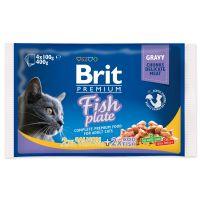 Kapsičky BRIT Premium Cat Fish Plate (400g)