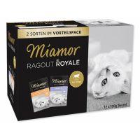 Kapsičky MIAMOR Ragout Royale Kitten multipack v želé 2x6x100g