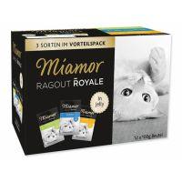 Kapsičky MIAMOR Ragout Royale multipack kuře, tuňák, králík v želé (1200g)