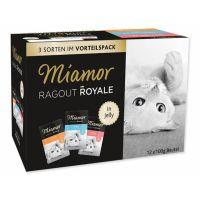 Kapsičky MIAMOR Ragout Royale multipack v želé krůta, losos, telecí (1200g) 00g)