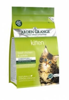 Kitten: fresh chicken & potato - grain free recipe 2 kg