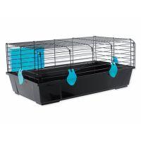 Klec SMALL ANIMAL Matěj černá s modrou výbavou (1ks)