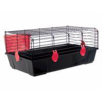 Klec SMALL ANIMAL Michal černá s červenou výbavou (1ks)