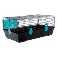Klec SMALL ANIMAL Michal černá s modrou výbavou (1ks)