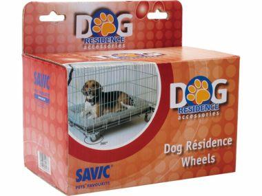 Kolečka Dog Residence   (4ks)