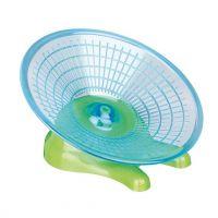 Kolotoč - létající talíř pro myši a křečky 17 cm
