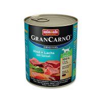 Konzerva ANIMONDA Gran carno losos + špenát (800g)