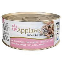 Konzerva APPLAWS Cat Tuna Fillet & Prawn (70g)