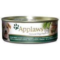 Konzerva APPLAWS Dog Chicken, Beef Liver & Veg 156 g ()