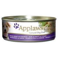 Konzerva APPLAWS Dog Chicken, Veg & Rice 156 g ()