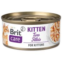 Konzerva BRIT Care Cat Kitten Tuna Fillets 70g