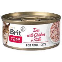 Konzerva BRIT Care Cat Tuna with Chicken And Milk 70g