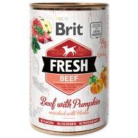 Konzerva BRIT Fresh Beef with Pumpkin (400g)