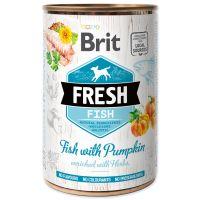 Konzerva BRIT Fresh Fish with Pumpkin (400g)