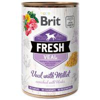 Konzerva BRIT Fresh Veal with Millet (400g)