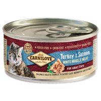 Konzerva CARNILOVE WMM Turkey & Salmon for Adult Cats 100g
