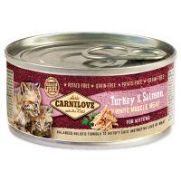 Konzerva CARNILOVE WMM Turkey & Salmon for Kittens 100g