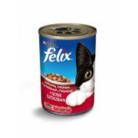 Konzerva Felix hovězí + krůta v sosu 400g