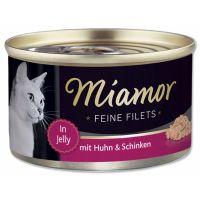 Konzerva MiamorFilet kuře + šunka   (100g)