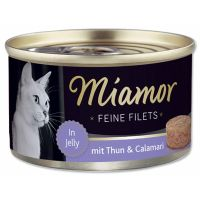 Konzerva MiamorFilet tuňák + kalamáry   (100g)
