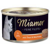 Konzerva MiamorFilet tuňák + křepelčí vejce   (100g)