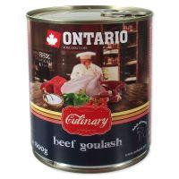 Konzerva ONTARIO Culinary Beef Goulash (800g)