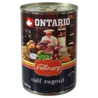 Konzerva ONTARIO Culinary Calf Ragout with Duck (400g)