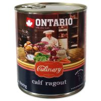 Konzerva ONTARIO Culinary Calf Ragout with Duck (800g)