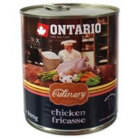Konzerva ONTARIO Culinary Chicken Fricasse (800g)