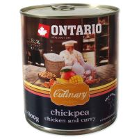 Konzerva ONTARIO Culinary Chickpea, Chicken and Curry (800g)
