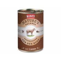 Konzerva RINTI Nature's Balance jehně + hnědá rýže + vejce (400g)