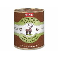Konzerva RINTI Nature's Balance sob + těstoviny + vejce (800g)