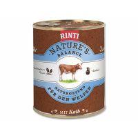 Konzerva RINTI Nature's Balance telecí + těstoviny + vejce (800g)